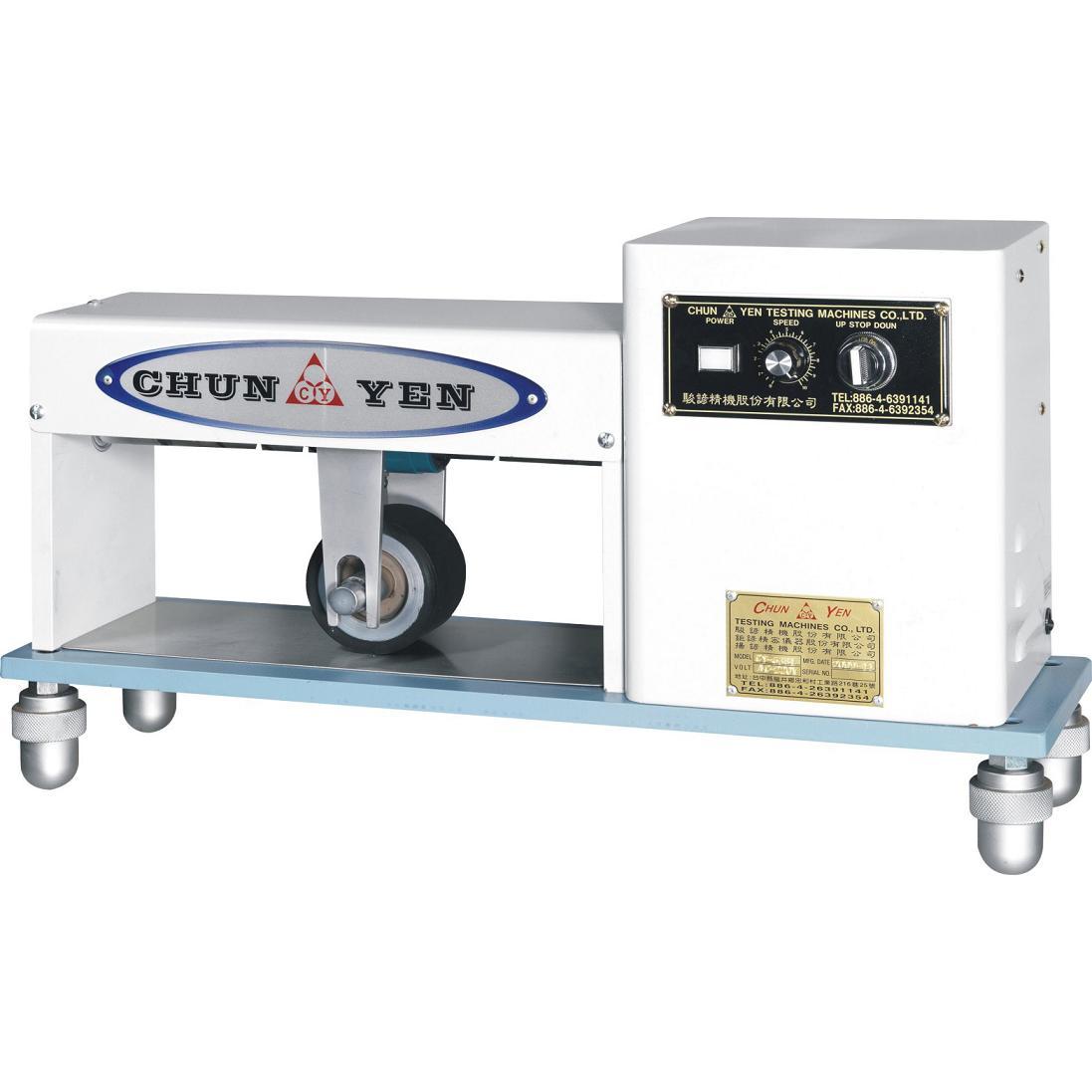 ... (股)公司 橡膠試驗機-輾壓滾輪機(橡膠試驗機-CY-6381